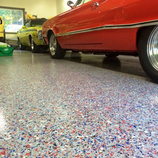 Custom Garage Floor