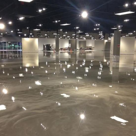 Epoxy Stain Commerical floor