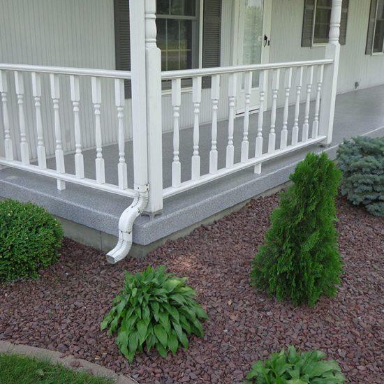 Porch Granit